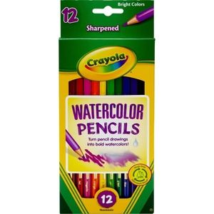 Crayola 12 ct Watercolor Colored Pencils 12 Count